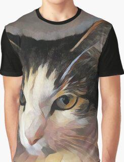 MeiMei Miao Portrait Of a Fat Cat Graphic T-Shirt