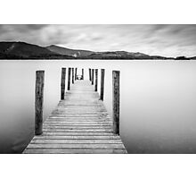 Lake District Jetty Photographic Print