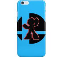 SUPER SMASH BROS: Mega Man-3DS iPhone Case/Skin