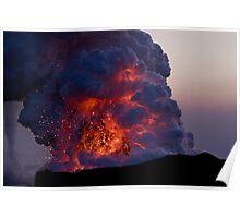 Kilauea Volcano at Kalapana 6 Poster