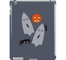 Pumpkins, Ghosts and spiders oh my! iPad Case/Skin