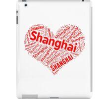 Shanghai - Red Heart iPad Case/Skin