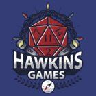 Hawkins Games by AlundrART
