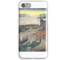 Fort Lee Ferry, . iPhone Case/Skin