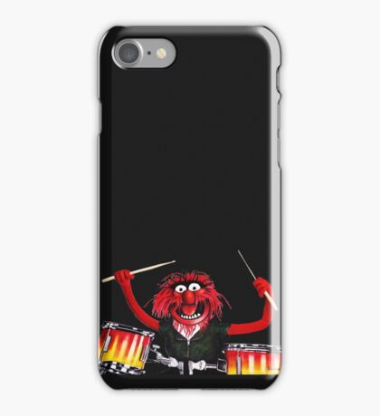 Animal Drummer iPhone Case/Skin