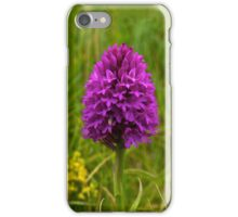 Pyramidal Orchid, Inishmore iPhone Case/Skin