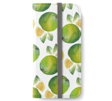 Lemon and Lime iPhone Wallet/Case/Skin