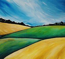 Summer Fields by Alison Newth