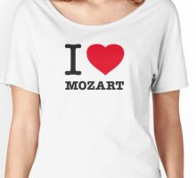 I ♥ MOZART Women's Relaxed Fit T-Shirt