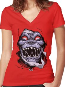 THE EVER LIVING! Women's Fitted V-Neck T-Shirt