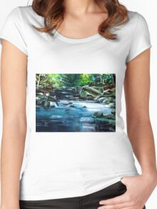 Monsoon Women's Fitted Scoop T-Shirt