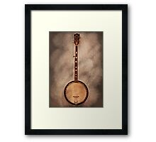 Music - String - Banjo  Framed Print