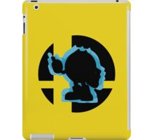SUPER SMASH BROS: Pac-Man-Wii U  iPad Case/Skin