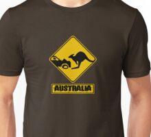 Kangaroo vs. Car Unisex T-Shirt