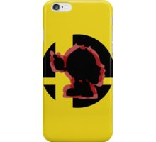 SUPER SMASH BROS: Pac-Man-3DS iPhone Case/Skin