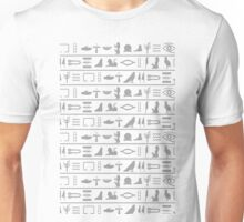 Egyptian hieroglyphics Unisex T-Shirt
