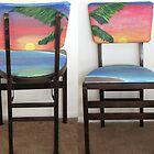 Folding Chairs IV by WhiteDove Studio kj gordon