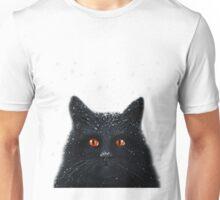 Black Cats Get a Bad Rap - cat art Unisex T-Shirt