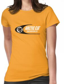 Arctic Cat Vintage Snowmobiles Womens Fitted T-Shirt