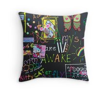 The Amys Are Awake Throw Pillow