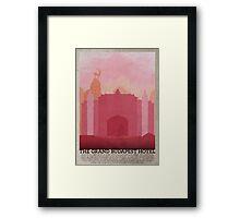 Budapest Hotel Framed Print