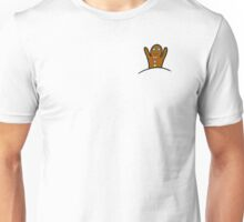 Gingerbread Man Pocket Unisex T-Shirt