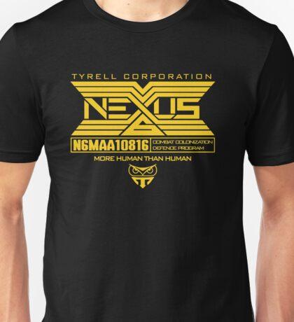 Blade Runner Nexus 6 Unisex T-Shirt