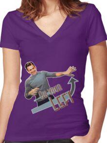 Stop Chris Evans 2k14 Women's Fitted V-Neck T-Shirt