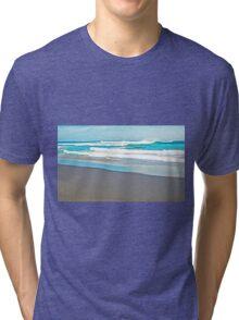 Aqua Tri-blend T-Shirt