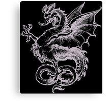 Dragon Monster Canvas Print