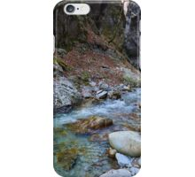 River in a canyon iPhone Case/Skin