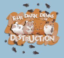 Danganronpa - Four Dark Devas of Destruction One Piece - Short Sleeve