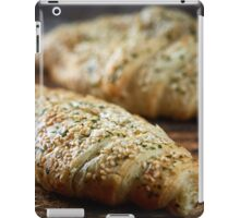 Cheese and ham pastry iPad Case/Skin