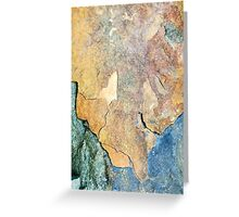 Mineral Abstract Greeting Card