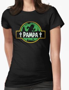 <FINAL FANTASY> Pampa Jurassic Park Style Womens Fitted T-Shirt
