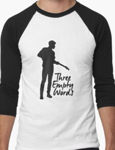 Shawn New August #2 Men's Baseball ¾ T-Shirt