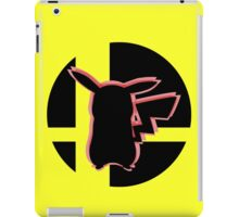 SUPER SMASH BROS: Pikachu-3DS iPad Case/Skin