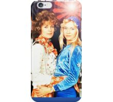 ABBA's amazing retro collage #2. Exclusive from INSPIRINGPEOPLE iPhone Case/Skin