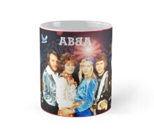 ABBA's amazing retro collage #2. Exclusive from INSPIRINGPEOPLE Mug