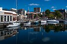 Hobart Harbour - Tas by Yukondick