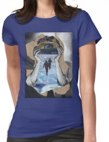 I'm watching You Womens Fitted T-Shirt