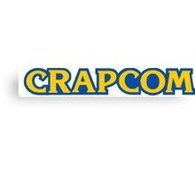 CRAPCOM (CAPCOM Parody) Canvas Print