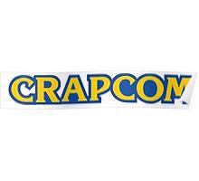 CRAPCOM (CAPCOM Parody) Poster