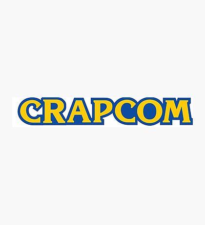 CRAPCOM (CAPCOM Parody) Photographic Print