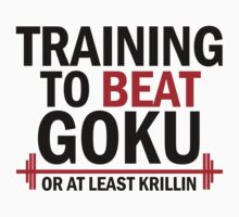 Training to beat goku - Krillin 2 by Lamamelle2nd