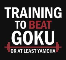 Training to beat goku - Yamcha 2 by Lamamelle2nd