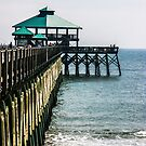 Folly Beach Pier by Sherri Fink