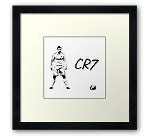 Cristiano Ronaldo - CR7 Framed Print