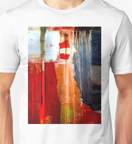 red moonlit night Unisex T-Shirt