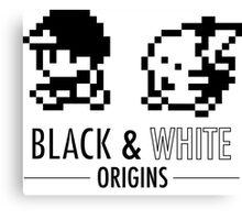 Pokemon Black & White Origins Canvas Print